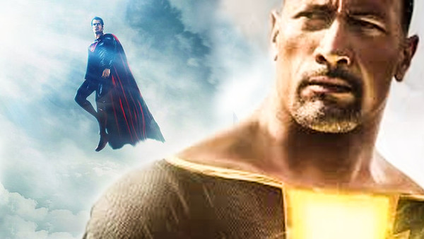 The Rock Black Adam Superman