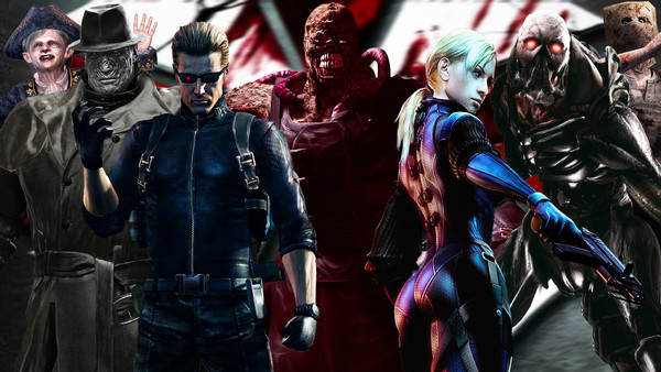 Resident Evil Bosses