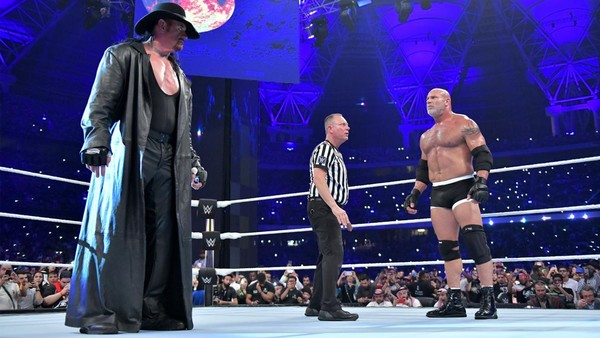 WWE Super Showdown The Undertaker Goldberg