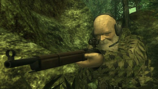 Metal Gear Solid 3 Snake Eater The End