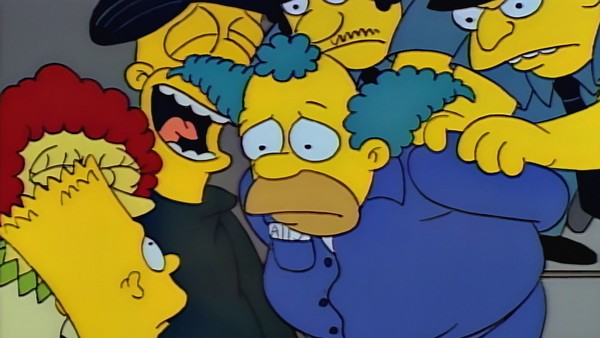 the simpsons krusty gets busted
