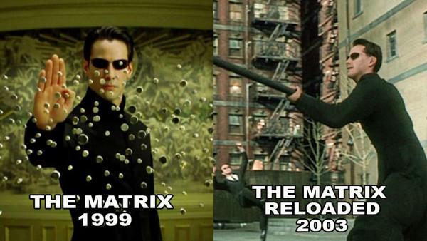 The Matrix CG