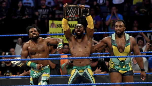 The New Day Kofi Kingston WWE Champion
