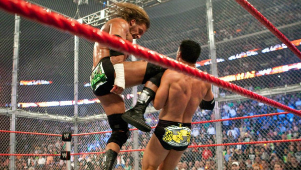 Triple H Cody Rhodes Hell In A Cell 2009