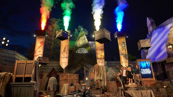 Universal Orlando Hagrid Magical Creatures Motorbike Adventure Harry Potter