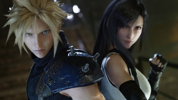 Final Fantasy 7 Remake Cloud Tifa