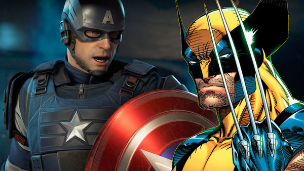 Captain America Wolverine