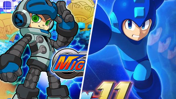 Mighty No 9 Mega Man 11