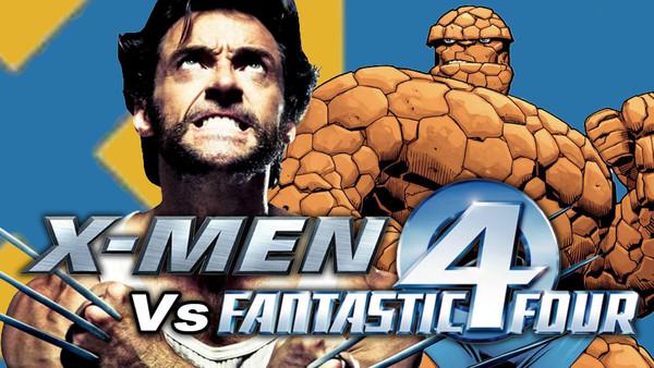 X Men Fantastic Four
