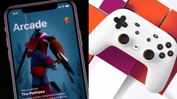 Apple Arcade Google Stadia