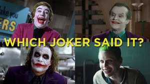 which joker said it?