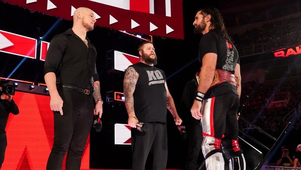Baron Corbin Seth Rollins Raw