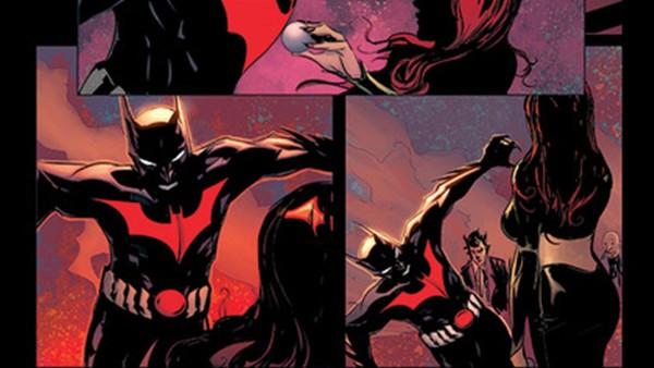 Legion of Super-Heroes Batman Beyond