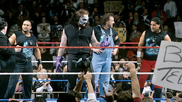 Undertaker Dark Side Survivor Series 1995