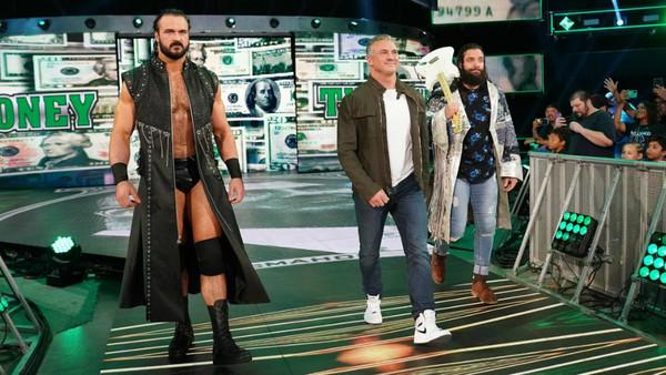 Shane McMahon Drew McIntyre Elias