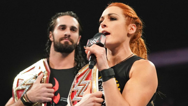 Becky Lynch Seth Rollins