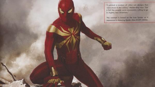 Spider-man Iron Spider Concept
