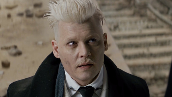 Fantastic Beasts and Where to Find Them Grindelwald Johnny Depp