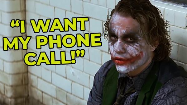 The Joker The Dark Knight Heath Ledger