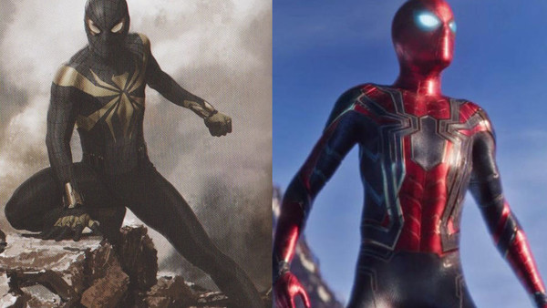 Spider-Man Infinity War Concept
