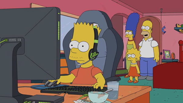 E My Sports The Simpsons