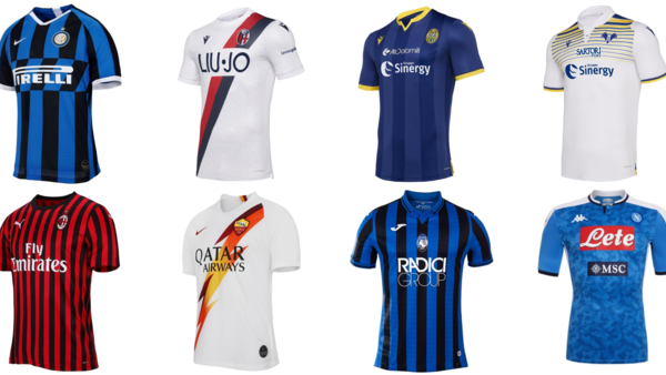 reputable site 41a55 729ad The 15 Best Kits For The 2019/20 Serie A Season