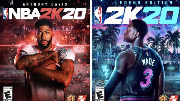 NBA 2K20 Dwyane Wade Anthony Davis