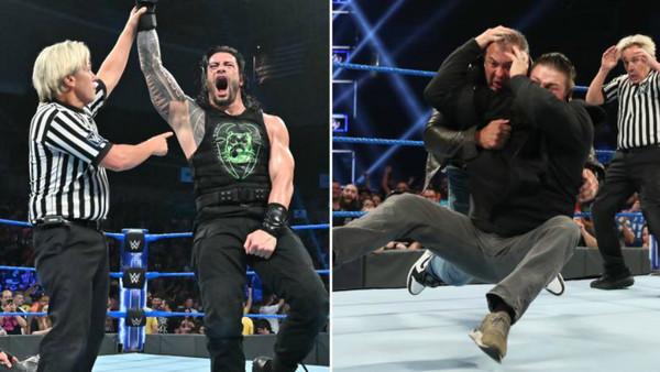 Roman Reigns Kevin Owens