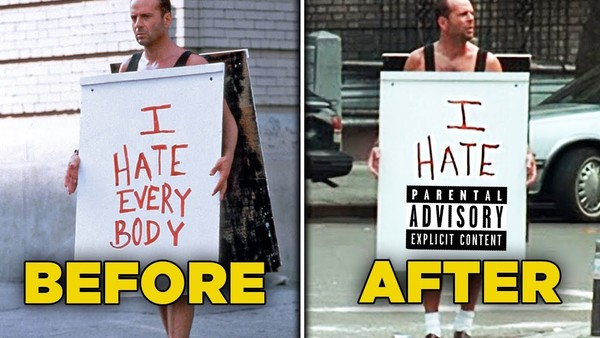 Die Hard With A Vengeance Before/After