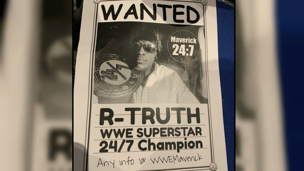 R-Truth Wanted Poster
