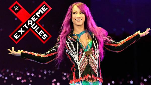 Sasha Banks Extreme Rules