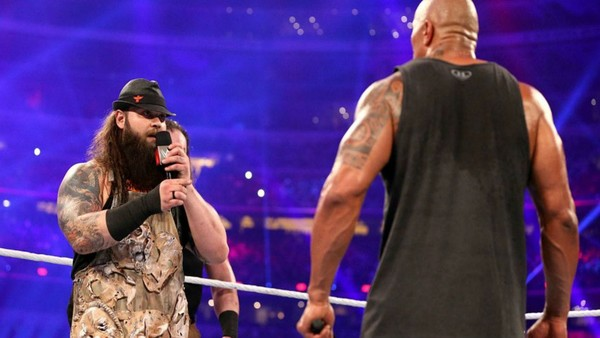 Bray Wyatt The Rock