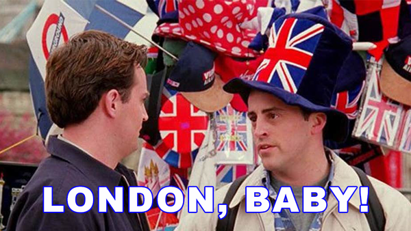 Friends Quiz: How Well Do You Remember The London Episode?