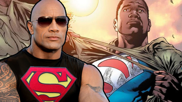 The Rock Black Superman