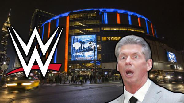 WWE MSG Vince McMahon