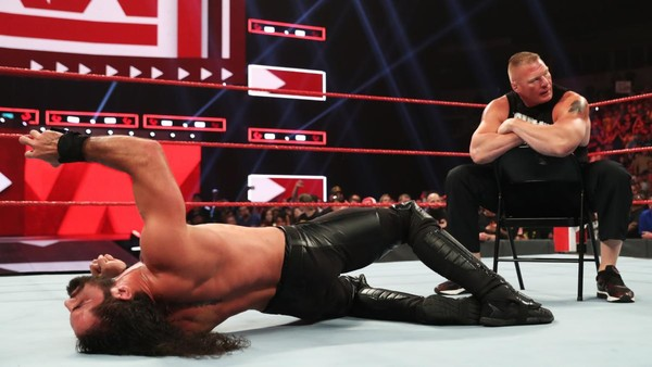 Brock Lesnar Seth Rollins