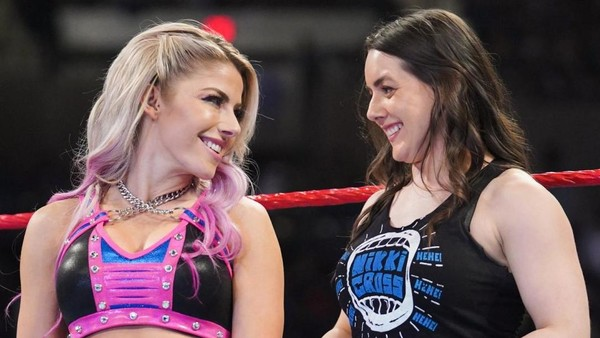 Alexa Bliss Nikki Cross Raw