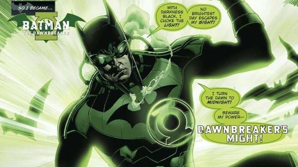 Green Lantern Batman Dawnbreaker