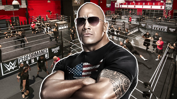 The Rock WWE Performance Center