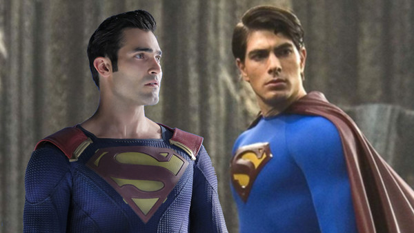 Tyler Hoechlin Brandon Routh Superman