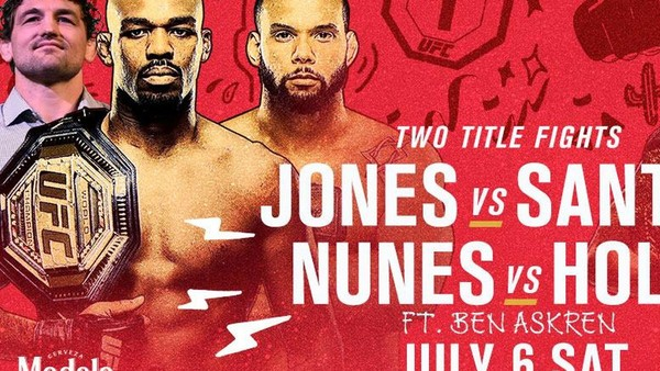 UFC 239: Jones survives Santos; Masvidal sets record with 5-second KO