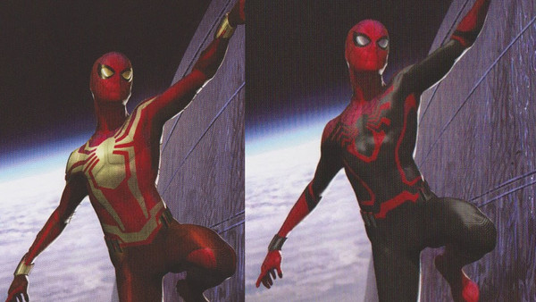 Spider-Man Concepts Infinity War