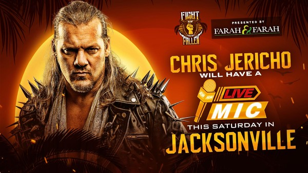 Chris Jericho AEW Fight for the Fallen