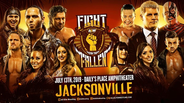 AEW Fight For The Fallen Banner