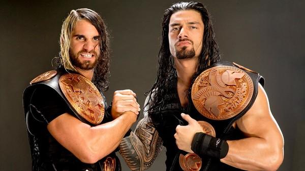 Seth Rollins Roman Reigns Tag