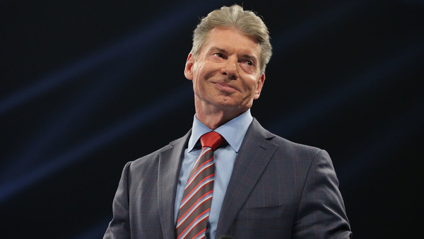 Vince McMahon happy