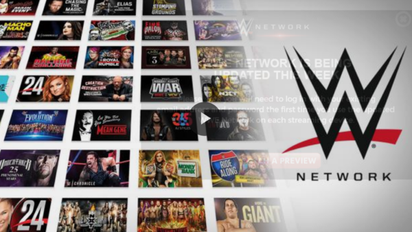 WWE Network graphic