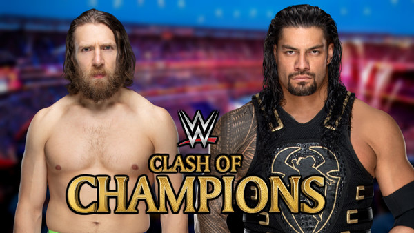Clash Of Champions Roman Reigns Daniel Bryan