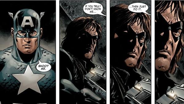 Captain America Bucky Barnes Winter Soldier