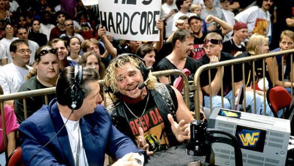 Brian Pillman Vince McMahon